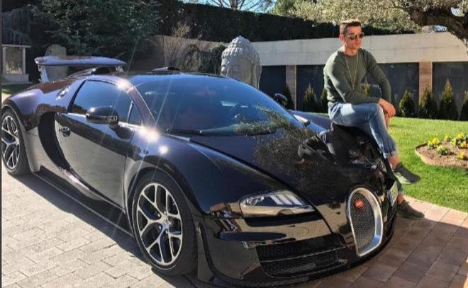 Cristiano Ronaldo da el visto bueno al Bugatti Chiron de 1.500 caballos | motor | EL MUNDO