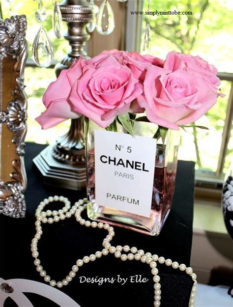 CoCo Chanel Inspired Perfume Label 3x5 inch personalized