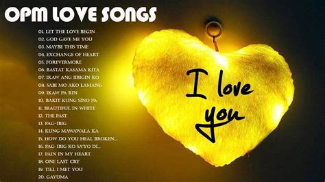 Best OPM English Love Songs 2018   OPM Love Songs