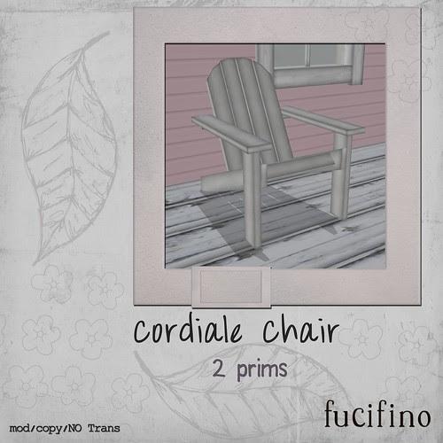 [f] fucifino.cordiale chair (white) for Moody Mondays
