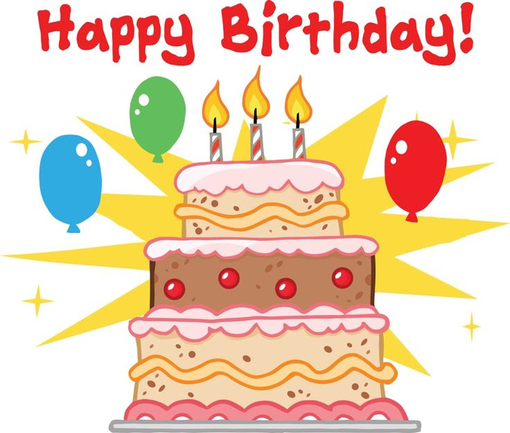 Cartoon Birthday Cake Clipart Happy Birthday Cake Cartoons