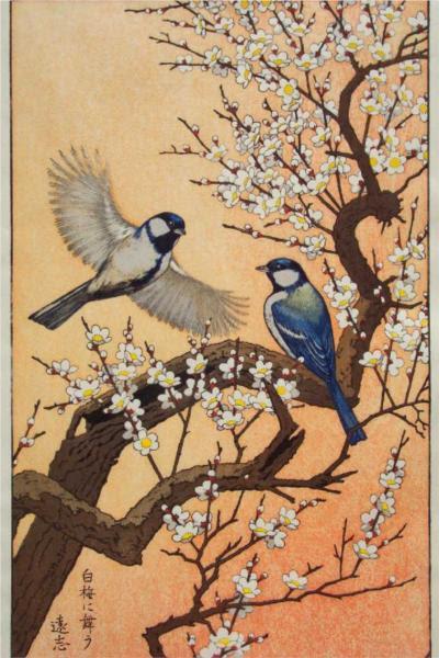 Τα πουλιά των εποχών - Άνοιξη - Toshi Yoshida