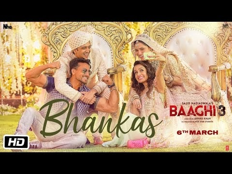 BHANKAS Lyrics - Baaghi 3 | Tiger