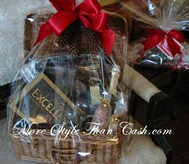 Make Inexpensive Gift Baskets That Look Expensive   More
