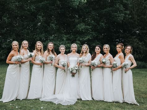 3 reasons your bridesmaids can wear white   Wedding Ideas