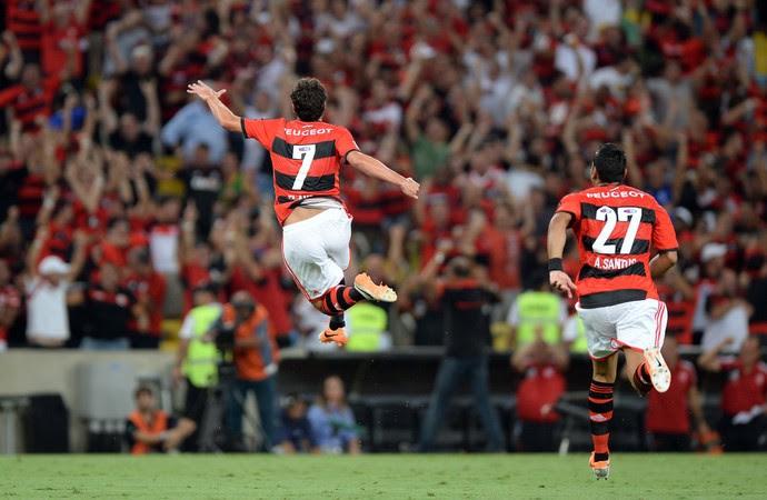 Elano, Flamengo x Emelec (Foto: Alexandre Vidal/Fla Imagem)