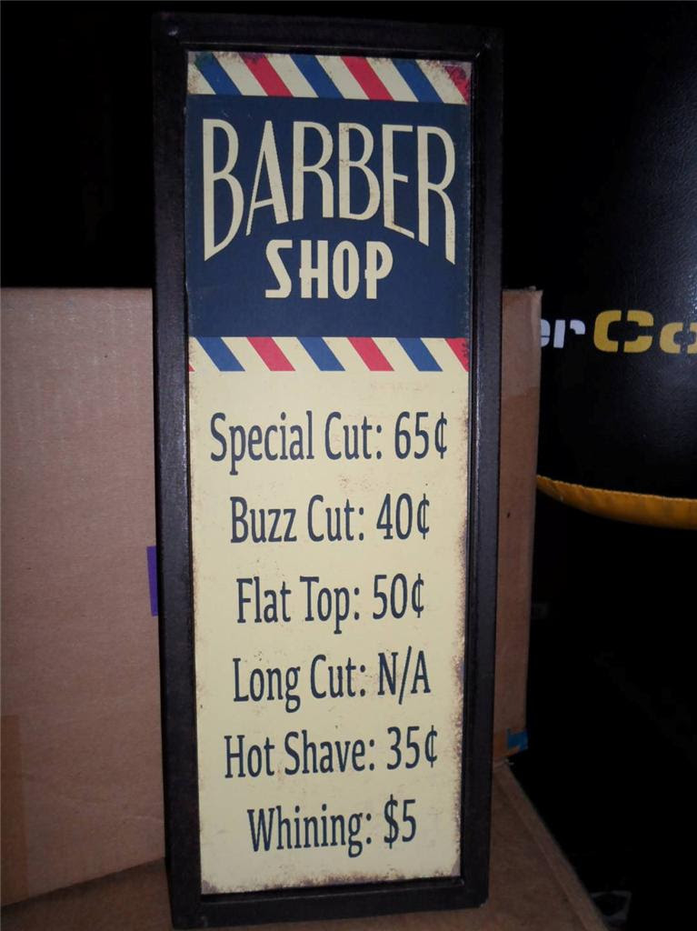 Image result for barber shop sign