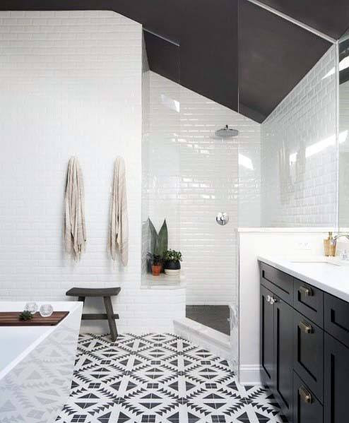 Top 60 Best White Bathroom Ideas - Home Interior Designs