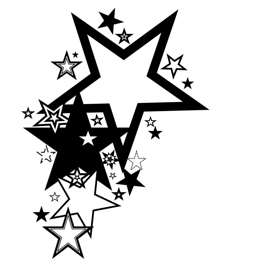 Free Heart Star Tattoo Designs Download Free Clip Art Free Clip
