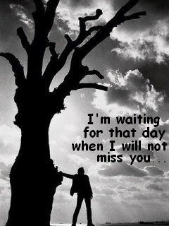 Im Waiting For That Day When I Will Not Miss You Sad Quote