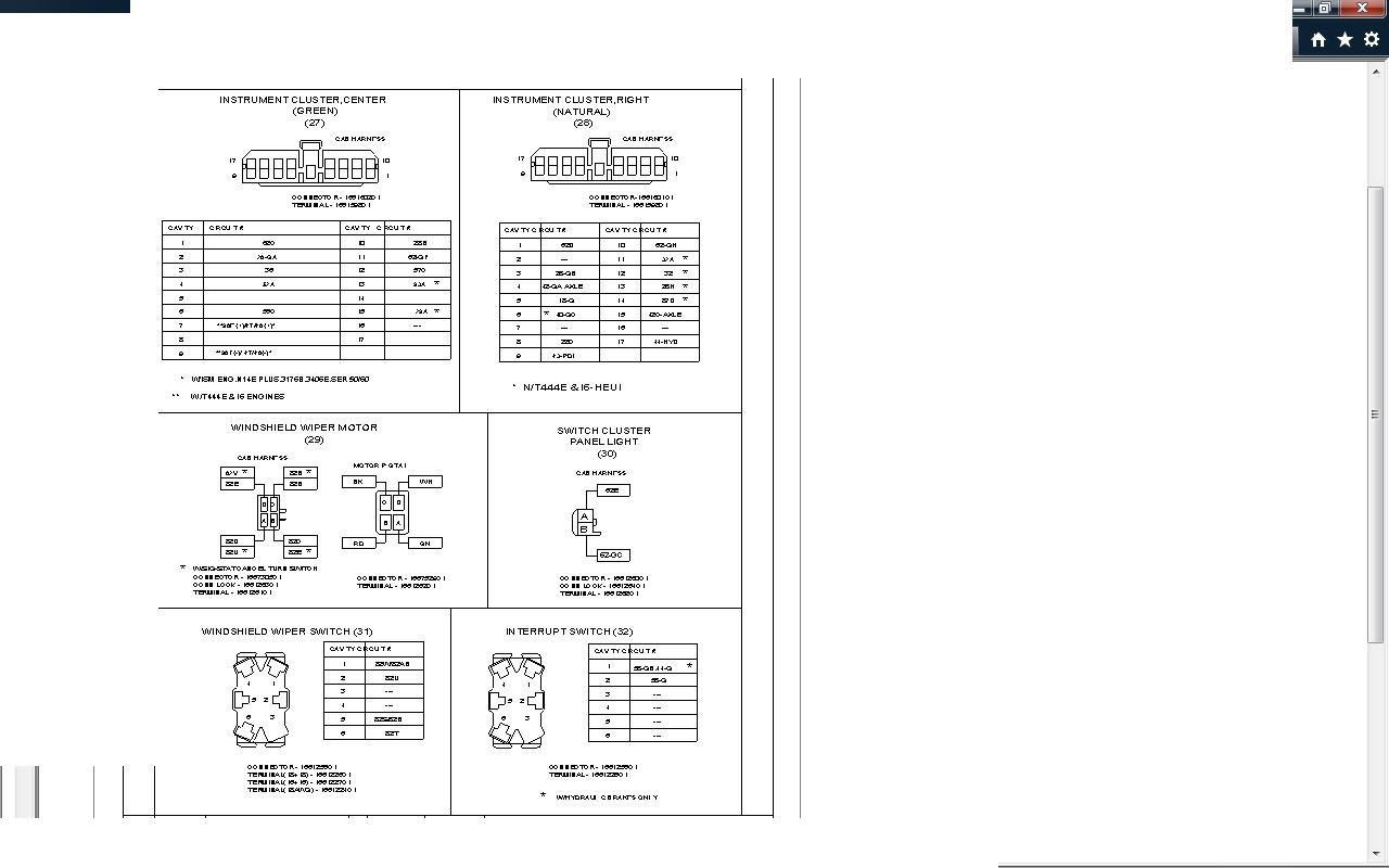 32 1997 International 4700 Wiring Diagram - Wiring Diagram ...