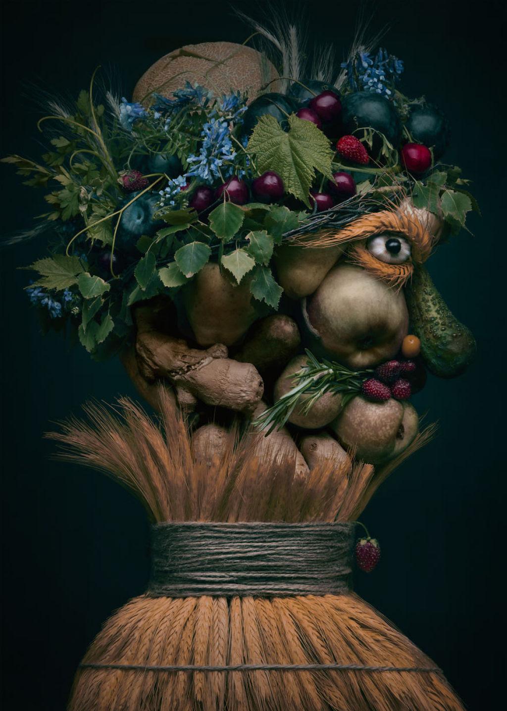 Artista polonesa cria uma incrível coleção inspirada na arte de Giuseppe Arcimboldo 07