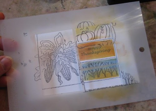 Faux Postage Stamps 009