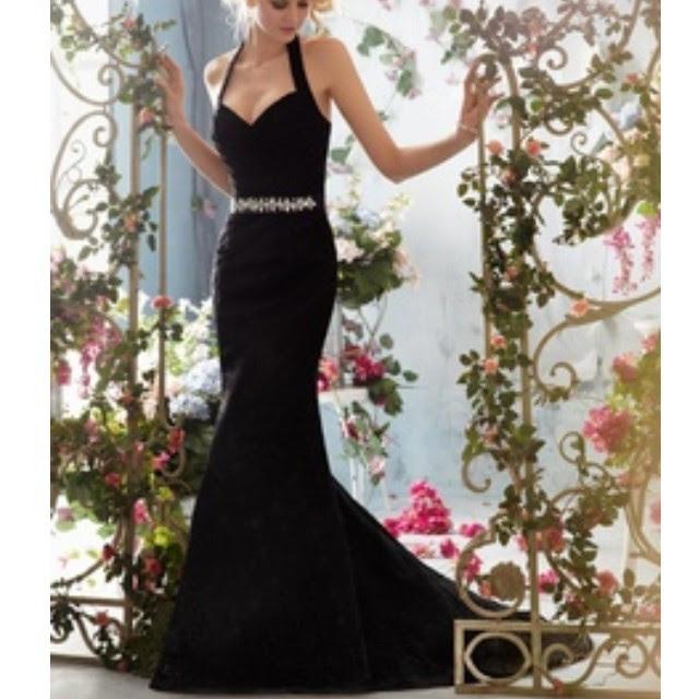 Black evening dresses tumblr
