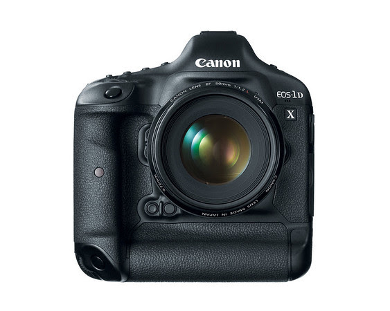 Canon EOS-1D X Front View