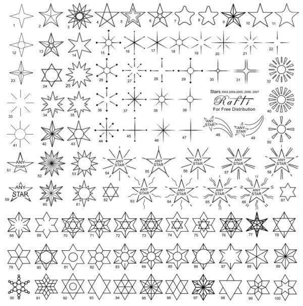 Cómo Hacer Un Tatuaje De Estrellas Cómo Se Hace Un Diseño De