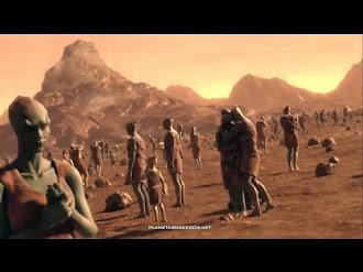 Probable Evidencia De Vida Inteligente En Marte