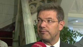 El ministre de Justícia en funcions, Rafael Catalá