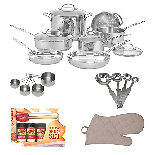 Cuisinart 77 11G Chef s Classic Stainless 11 Piece