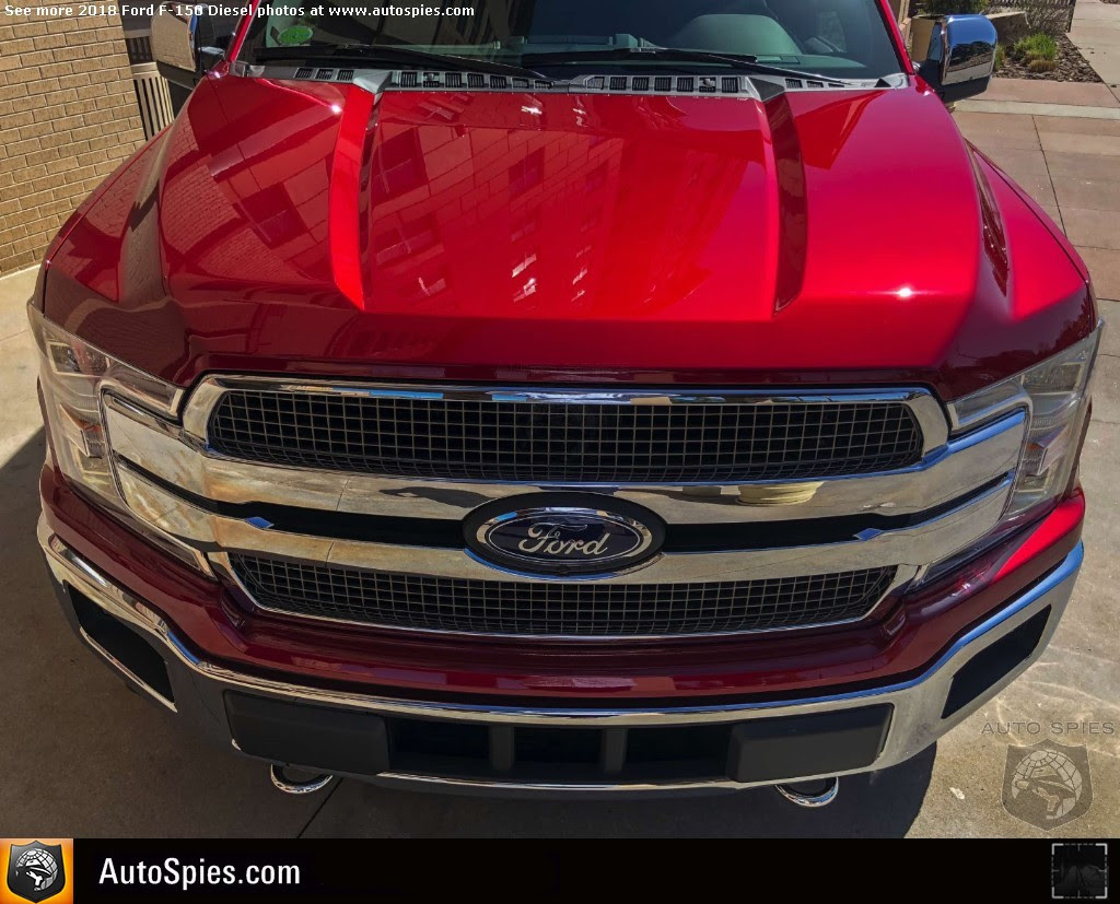Exclusive First Photos Of 2018 Ford F 150 Interior Colors