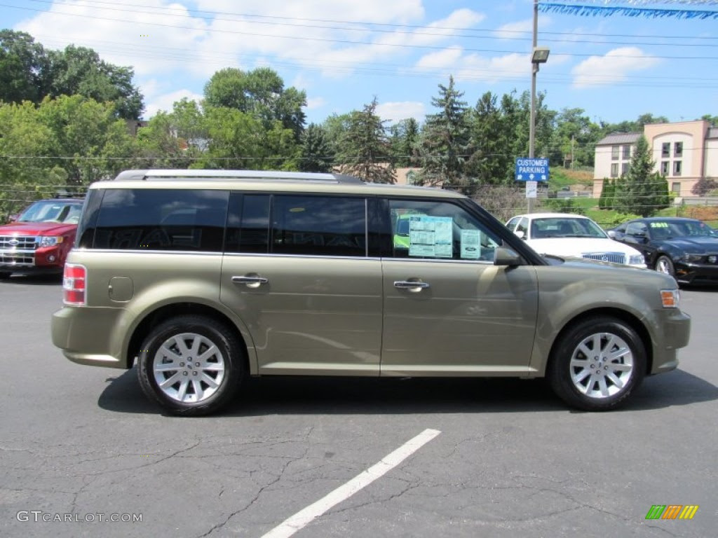 Ginger Ale Metallic 2012 Ford Flex SEL AWD Exterior Photo ...
