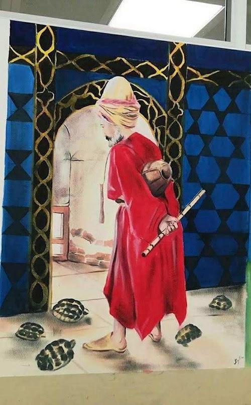 Ilkokul Duvar Boyama Faaliyetimiz Sultan Fatih Koleji Anaokulu