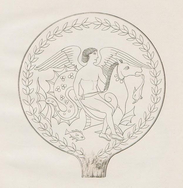 Etruskische Spiegel by Eduard Gerhard, 1840s p