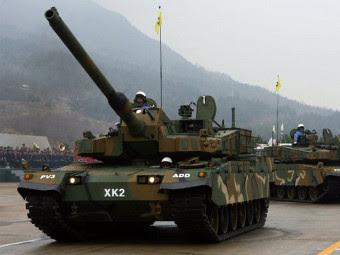 Танк K2. Фото с сайта armour.ws