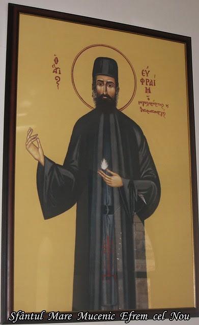 Sfântul  Mare  Mucenic  Efrem  cel  Nou 20