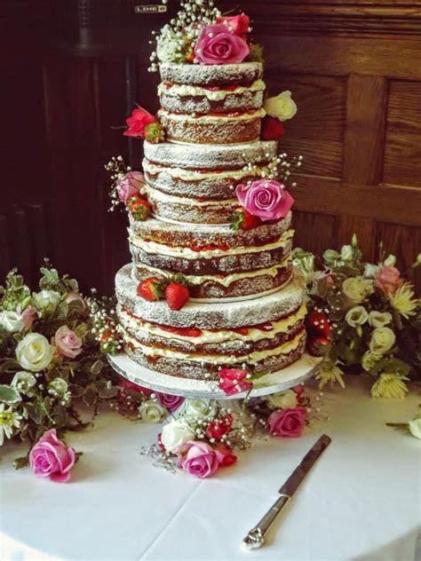 The Naked Wedding Cake