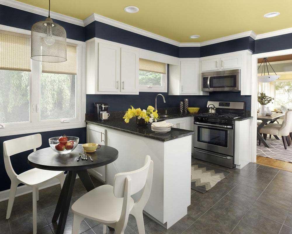Desain  Dapur  dan  Ruang  Makan  Terbuka 5 Desain  Rumah