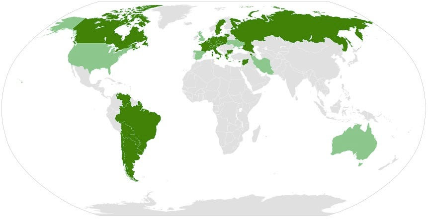 Map Armenian genocide