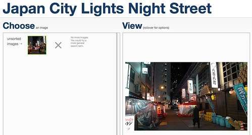 Japan City Lights Night Street images - Sprixi submission