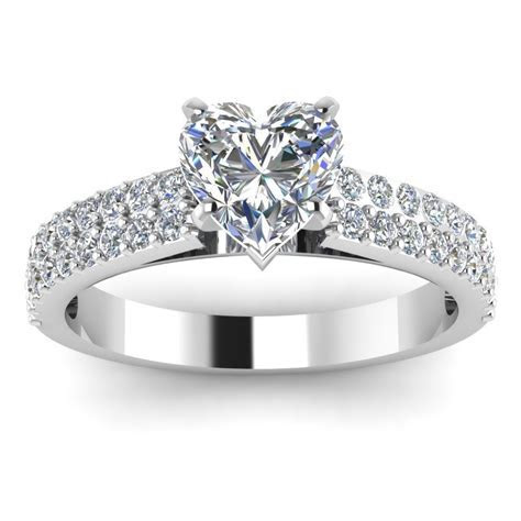 Platinum wedding rings for her
