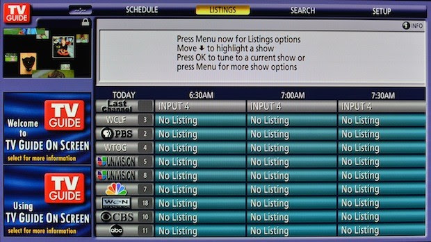 Without notice, Rovi shuts down TV guide service