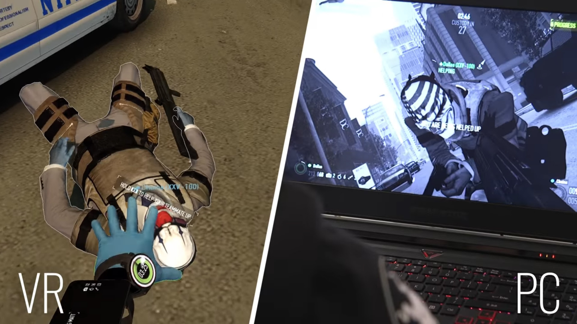 Payday VR is on the way with standard PC cross-play screenshot