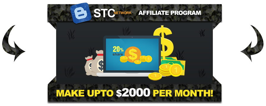 Join STCnetwork's Affiliate program