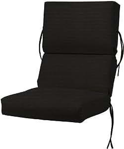 Amazon.com : Bullnose High back Outdoor Chair Cushion, 4 ...