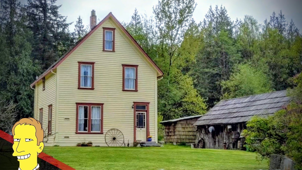 Historic Annand Farmhouse in Campbell Valley Regional Park