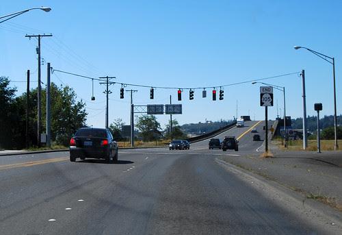 SR 105 @ US 101 northward