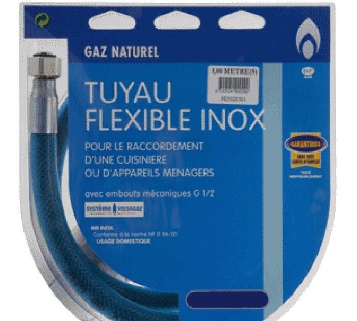 Pour Ma Famille Flexible Gaz 2m Castorama