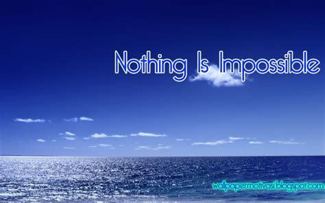 kata mutiara   impossible wallpaper motivasi