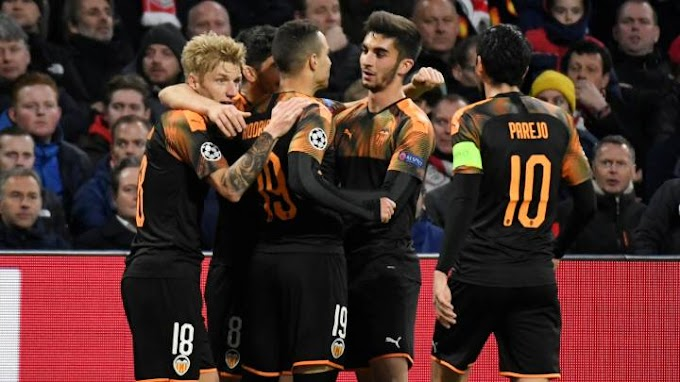 VIDEO: Ajax 0:1 Valencia / Champions Laegue
