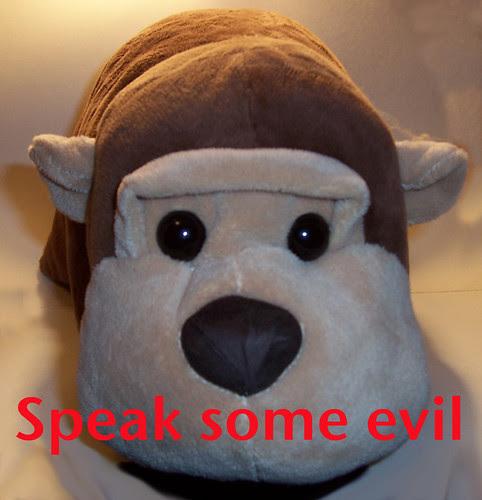Speak some evil