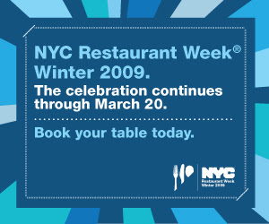 NYC Winter 2009 Restaurant Week