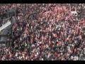 Masiva protesta de sindicatos en España contra ley de flexibilización laboral