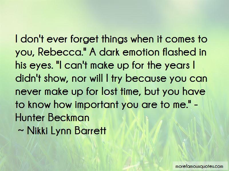 Nikki Lynn Barrett Quotes Top 17 Famous Quotes By Nikki Lynn Barrett