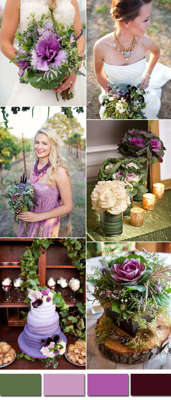 Kale Green Wedding Color Ideas For 2017 Spring Summer Stylish