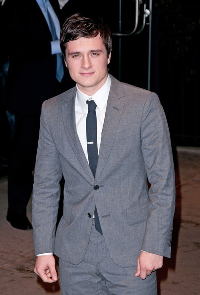"Josh Hutcherson Josh Hutcherson attending the Cinema Society & Calvin Klein Collection screening of ""The Hunger Games"" in New York City."