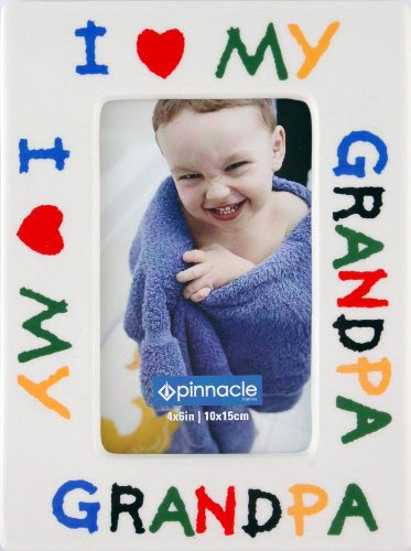 Pinnacle Frames I Love Grandpa Desk Frame 4 Inch By 6 Inch